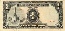 The Japanese Government V. 1944 ? --- One Peso (989) - Japan