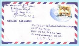 Jamaika Jamaica Jamaique Brief Cover Lettre 715 Jahr Des Arbeiters    (22995) - Jamaica (1962-...)