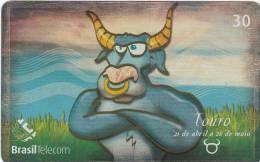 BRAZIL(Brasil Telecom) - Zodiac/Taurus, 05/01, Used - Zodiac