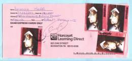 Jamaika Jamaica Jamaique Brief Cover Lettre 971 Gemälde Kunst O. Watson Mutter Kind Weihnachten (23008) - Jamaica (1962-...)