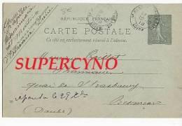 CARTE POSTALE ENTIER POSTAL RECLAMATION THE PURGATIF NON RECU.. - Postcards