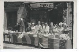 FETE COMMERCIALE 1934 - CARTE PHOTO - Commerce