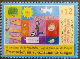 Uruguay 2001 SC 1924 MNH Prevention Of Drug Use Art - Uruguay