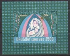 Uruguay 1974 SC C401 MNH Christmas - Uruguay