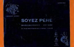 BUVARD : Maroquinerie SOYEZ PERE  Lille  Bleu Brillant - Kleidung & Textil
