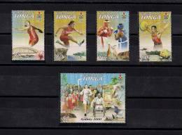 TONGA, YVERT 1167/1171**, JUEGOS OLÍMPICOS SIDNEY 2000, DEPORTES, PARAOLÍMPICOS - Verano 2000: Sydney