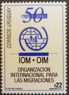 Uruguay 2001 SC 1908 MNH International Org Migration - Uruguay