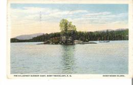The Killarney Summer Camp, Mont Tremblant, Quebec    Honeymoon Island  Crease Line - Other