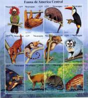 Nicaragua 1999 SC 2205 MNH Animals Of Central America - Nicaragua