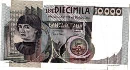 Joli Billet De 10000 Lire Italia Banknote Italie - 10.000 Lire