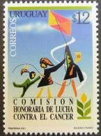 Uruguay 2001 SC 1926 MNH Kite Flowers - Uruguay