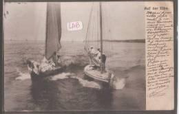 ---precurseurALLEMAGNE--Auf Der Elbe---bateaux --animé - Deutschland