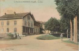 CPA PORTIEUX (Vosges) - La Verrerie : La Gare - Frankrijk