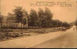 """CRAINHEM (Quatre-bras) """"Couvent Des Dominicaines - Avenue A. D'Huart - Trams 40 & 45"""" - Ed. Marco Marcovici ,Bxl - Kraainem"""
