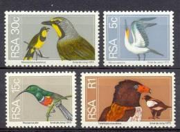 MR738 FAUNA VOGELS KOLIBRIE BOOBY HUMMINGBIRD BIRD OF PREY BIRDS VÖGEL AVES OISEAUX RSA 1974 PF/MNH # READ# - Birds