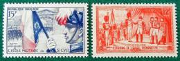 SAINT-CYR ET LEGION D´HONNEUR 1954 - NEUFS ** - YT 996/97 - MI 1022/23 - France