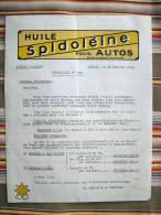 80  AMIENS   HUILE SPIDOLEINE - Auto's