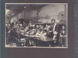 Nantes - Interieur Du Café La Glaciere Daté 1925  (il Se Situait à L' Angle De La Rue Paré) - Luoghi