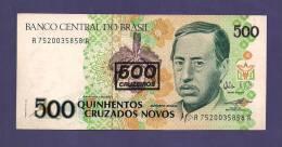 BRASIL   Banknote,  MINT UNC..  . 500 Cruzados Novos - Brazil