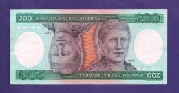 BRASIL , 1981  Banknote,  MINT UNC., 200 Cruzeiros KM Nr. 199 - Brazil