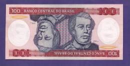 BRASIL , 1981  Banknote,  MINT UNC., 100 Cruzeiros KM Nr. 198 - Brazilië