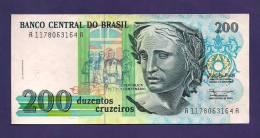 BRASIL ,  Banknote,  MINT UNC., 200 Cruzeiros - Brazilië