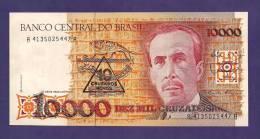 BRASIL ,  Banknote,  Used VF, 10000 Cruzeiros - Brazilië