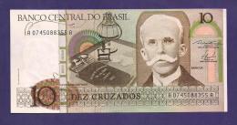 BRASIL ,  Banknote,  MINT UNC. , 10 Cruzados - Brazil