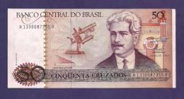 BRASIL ,  Banknote,  MINT UNC. , 50 Cruzados - Brazilië