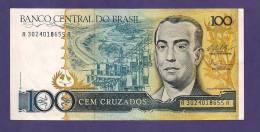 BRASIL ,  Banknote,  MINT UNC. , 100 Cruzados - Brazilië