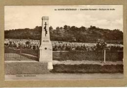 Sainte-Menehould (Marne) Cimetière Militaire. - Sainte-Menehould