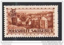 SARRE N°161 N**  RARE - 1920-35 Société Des Nations