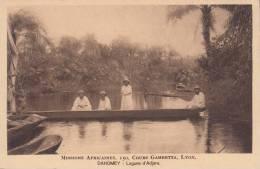 DAHOMEY -AFRICA - LAGUNE D'ADJARA  BELLA FOTO D´EPOCA ORIGINALE 100% - Dahomey