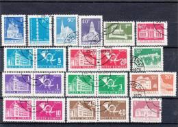 LOTTO ROMANIA 1975 -  2 SERIE USATE - 16 VALORI - Non Classés