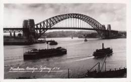SYDNEY  -AUSTRALIA-  HARBOUR BRIDGE  BELLA FOTO D´EPOCA ORIGINALE 100% - Sydney
