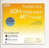 AOL: 60 Heures Par Mois Pour 4 Euros 90 Par Mois, Géant Casino (12-4320) - Kits De Connexion Internet