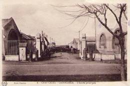 CASABLANCA - CAMP CAZES - L'entrée Principale - Régiment D'Aviation - Casablanca