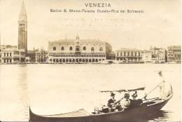 VENEZIA - Bacino S. Marco-Palazza Ducale-Riva Del Schiavoni - Venetië (Venice)