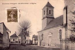 St-Sylvain-d'Anjou..belle Vue De L'Eglise - Other Municipalities
