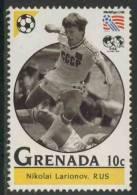 Grenada 1993 Mi 2657 ** Nikolai Larionov (*1957) Russia – World Cup Football Championships USA / Fußball / WK-voetbal - Wereldkampioenschap