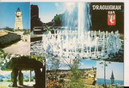 ###83, Draguignan, Avec 5 Vues Diverses, 1989, Voyagée - Draguignan