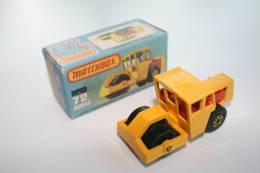 Matchbox Lesney MB72-C BOMAG ROAD ROLLER + Original Box, Issued 1978 - Matchbox