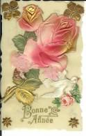 CPA  Celluloïd Bonne Année   6798 - Cartes Postales
