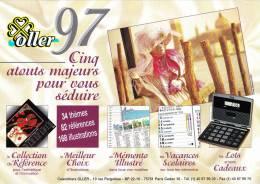 Catalogue ALMANACH DU FACTEUR OLLER 1997, 34 Thèmes, 82 Références, 168 Illustrations, Calendriers, Accessoires - Grand Format : 1991-00