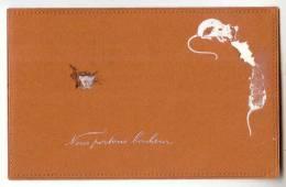 D9744 - Nous Portons Bonheur ! *souris*mice*   *thème : Cartes Sur La Carte Postale* - Cartes Postales