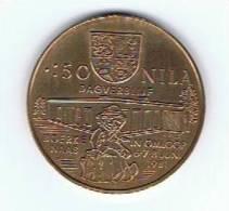 Belgi¨gemeentepenning 50 Nila 1981 Nijlen Boerkenaas - Gemeentepenningen