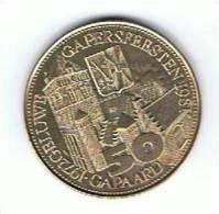 Belgi¨gemeentepenning 50 Gapard 1981 Gheluwe - Gemeentepenningen