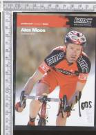 Z08140 CICLISMO CICLISTI BICICLETTE ALEX MOOS EXCITEMENT RESEARCH TEAM BMC - Cycling