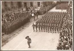 ASCOLI PICENO - FESTA DELLE FORZE ARMATE - 4 NOVEMBRE 1956 - PARATA MILATARE - 1 - Guerre, Militaire