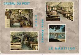 ###17, Ile d'Ol�ron, la Cotini�re, Hostellerie du Caveau, face au port, 1988, voyag�e
